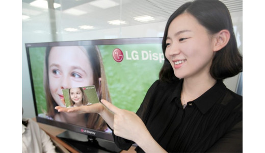 LG High-Resolution Mobile Displays