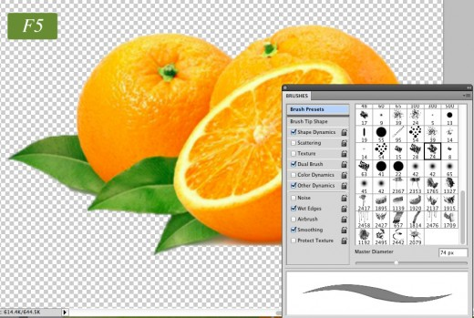Photoshop shortcut7