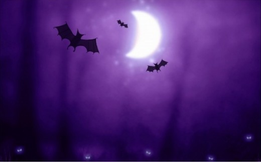 Bats Halloween wallpaper