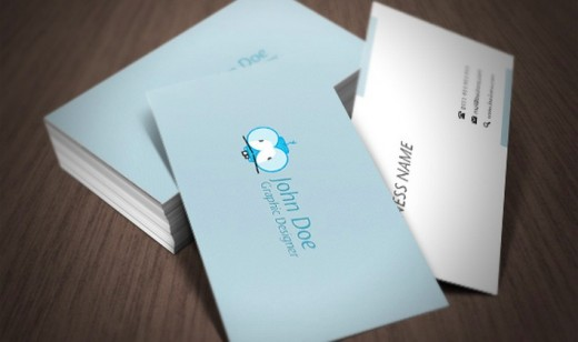 Business Card 520x308 30 Creative Free Business Card Templates