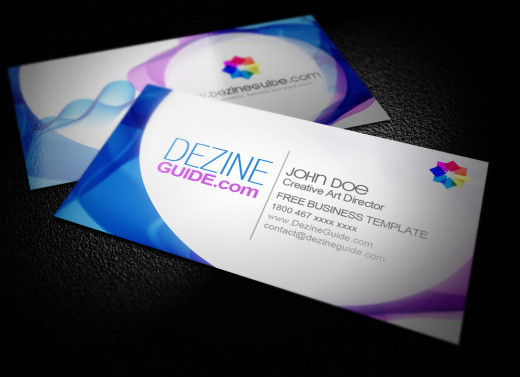 Business Card Preview 520x377 30 Creative Free Business Card Templates