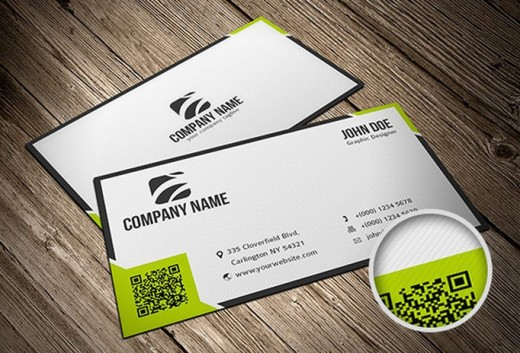 Businesscard template 520x353 30 Creative Free Business Card Templates