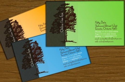 Cool Tree Business Card