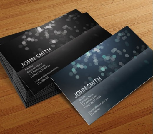 Free Business Card PSD v7 520x457 30 Creative Free Business Card Templates