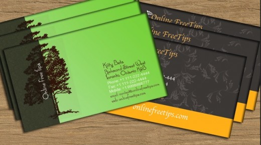 download free business cards