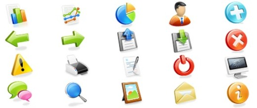 Free Web Application Icons Set