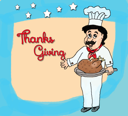 Thanks Giving Chef Clip art