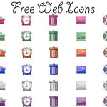 30 Beautiful Sets of Free Web Icons